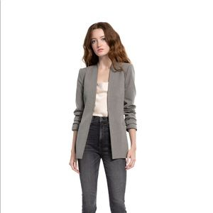 Alice + Olivia Jerri Long Blazer